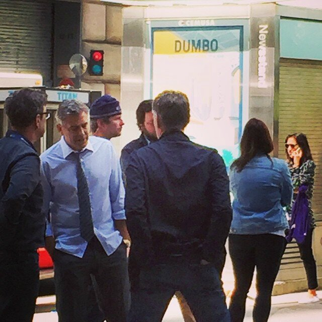 George Clooney on location: Money Monster NYC April 18, 2015 103579992