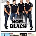 RUGBY: All Blacks à la Une