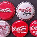 Cz republic's coca-cola crown caps 1 - capsules couronnées -