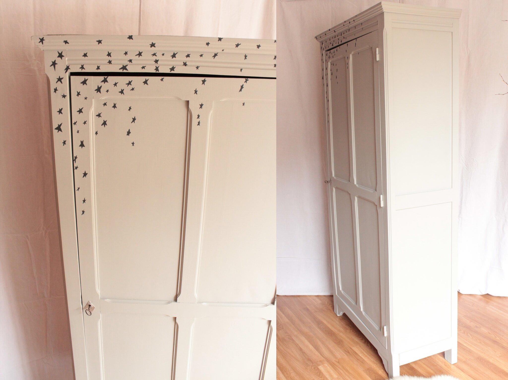 armoire parisienne une porte trendy little. Black Bedroom Furniture Sets. Home Design Ideas