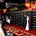 Hunger games : mockingjay part 2 - avant première à los angeles