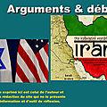 Menaces contre l'iran, bruits de guerre au liban et grand basculement