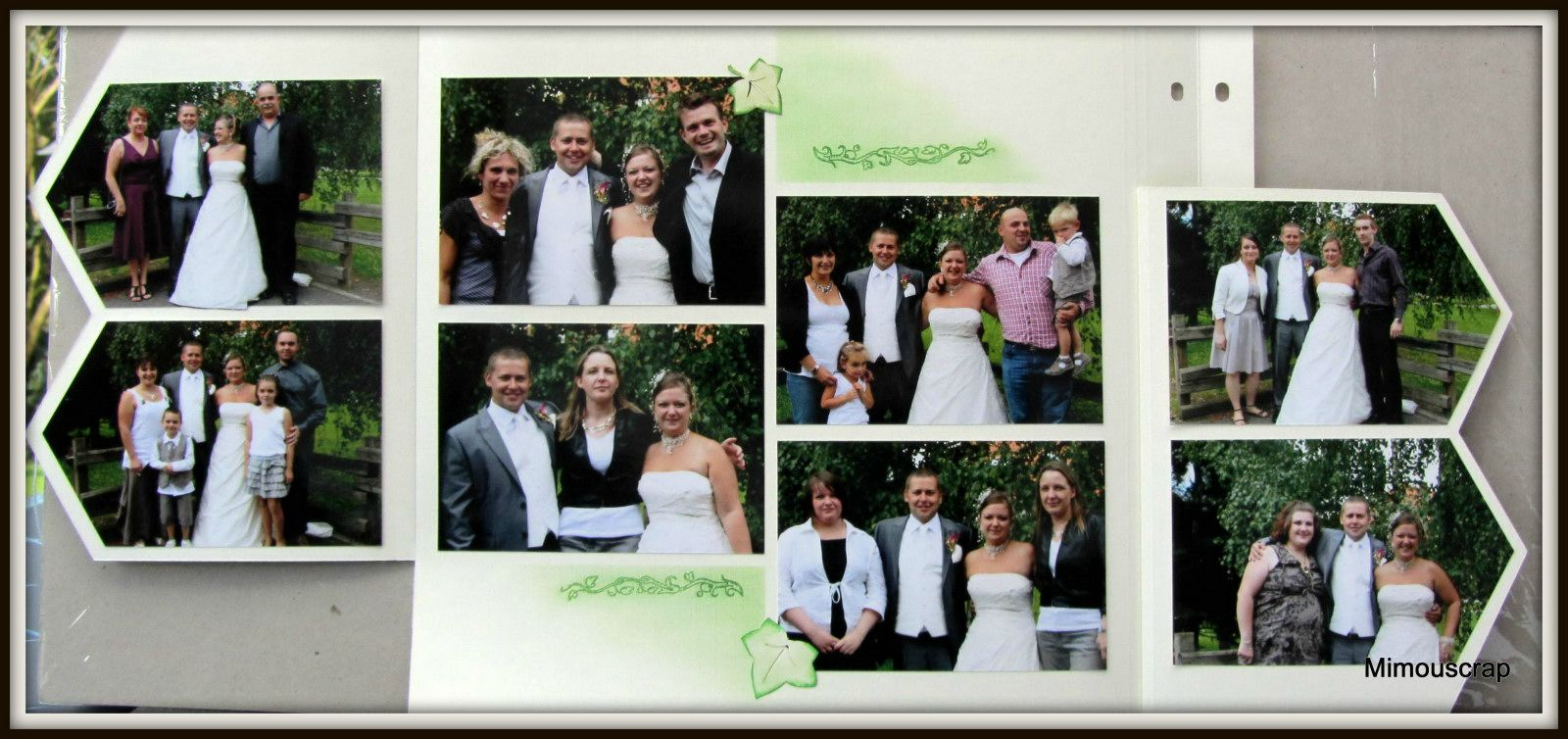 mariage photos avec la famille le scrap europ en de mimouscrap. Black Bedroom Furniture Sets. Home Design Ideas