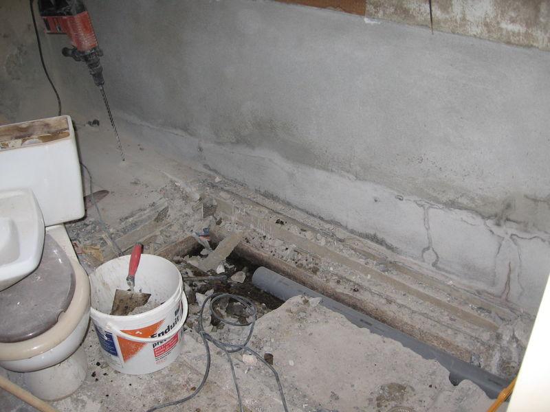 ancienne fosse septique bouchée