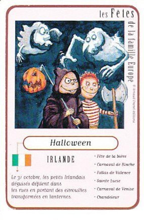 CPA Halloween Irlande