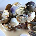 Palourdes et coques à la bretonne