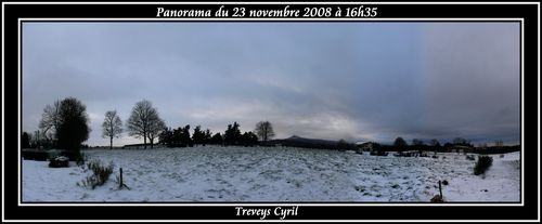 2008 11 23 Panorama du ciel à 16h35