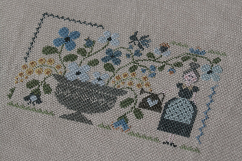 jardin bleu tralala
