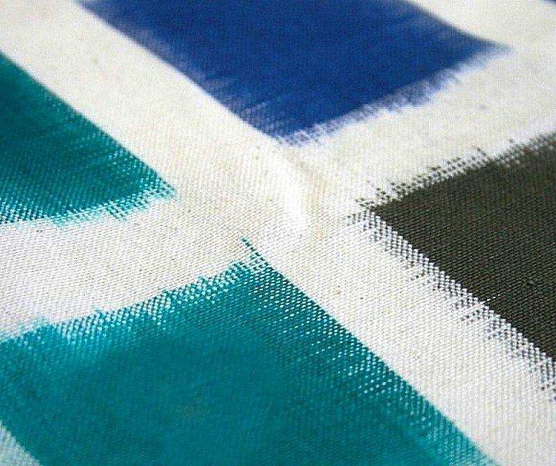 coton carreaux pantone bleus 3