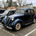 La simca type 8 berline 4 places (1950-1951)(rencard de haguenau mars 2010)