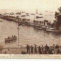 1936 : La jetée, la terrasse, l'hotel impérial, les pinassotes andernos (BMQ)