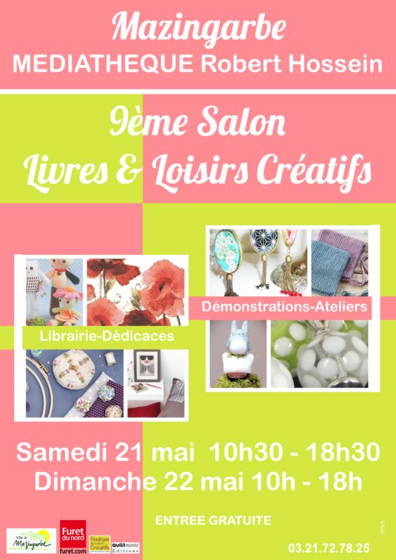 9ème salon,Livres et Loisirs créatifs,2016, Mazingarbe, Dame la Lune, Véronique DECOURTY