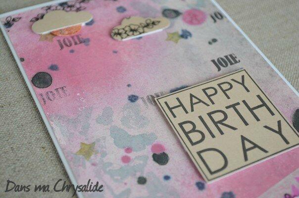 Carte anniversaire LadyKat3