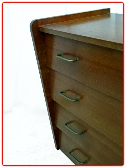 COMMODE PIEDS INCLINES