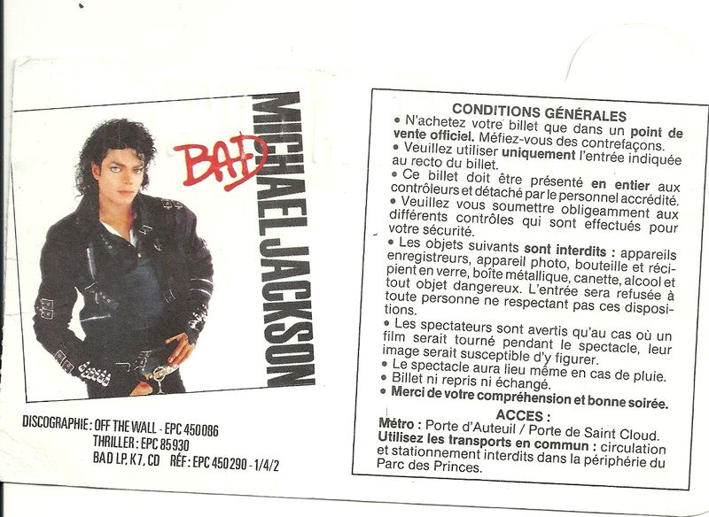 ticket bad tour0002