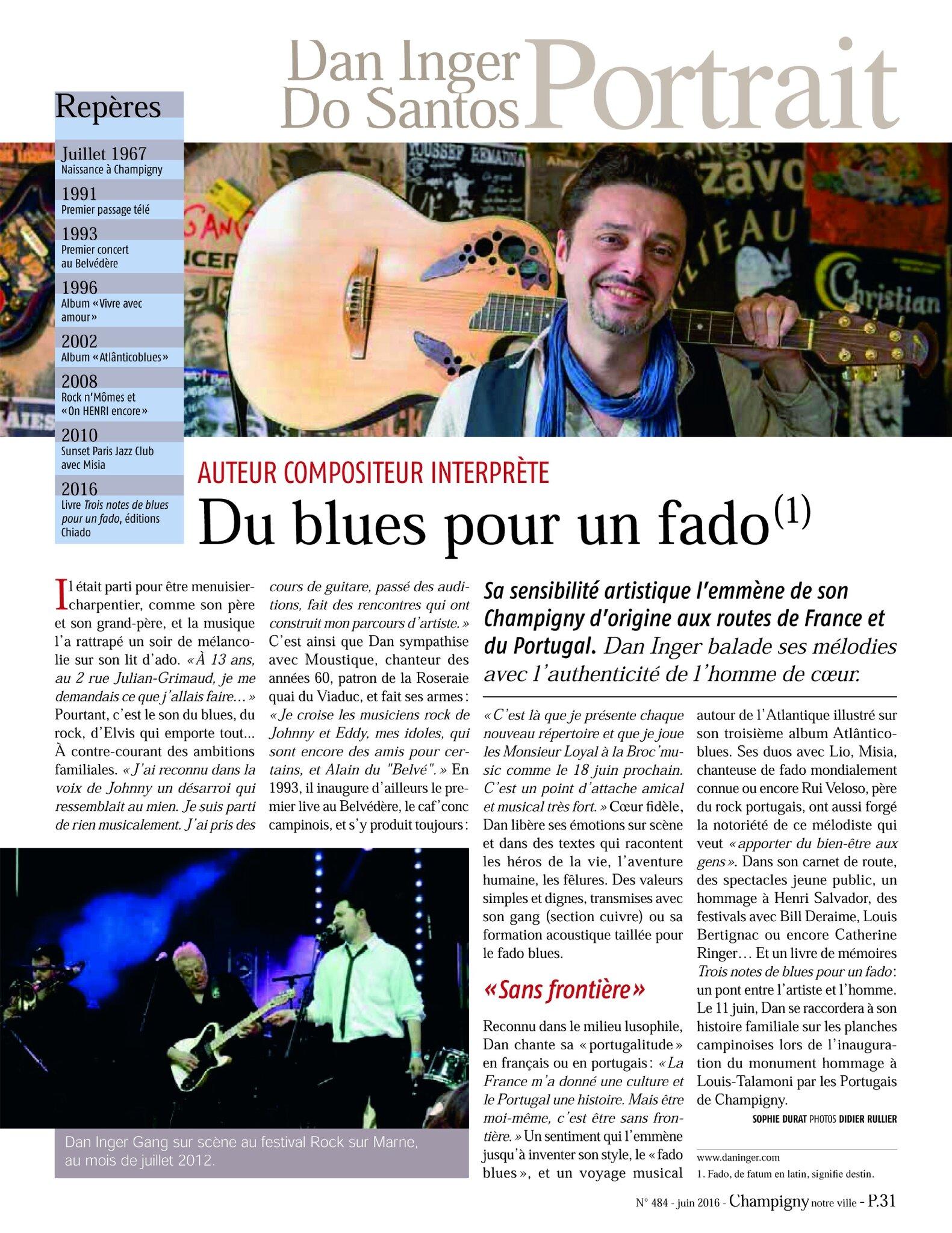 Magazine Champigny Notre Ville N°483 - mai 2016