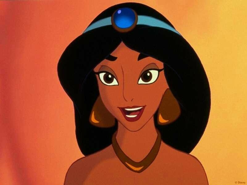 Moment Disney : Portrait de Jasmine