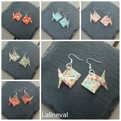 origami poissons