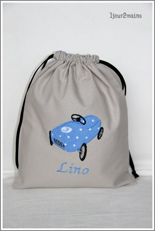 sac voiture Lino