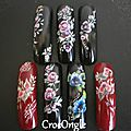 Nail art One Stroke capsules CrocOngle1