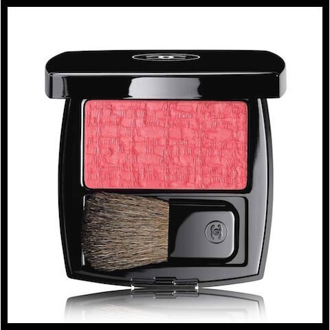 chanel blush duo les tissages tweed pink paradise