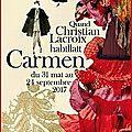 Nîmes - quand christian lacroix habillait carmen
