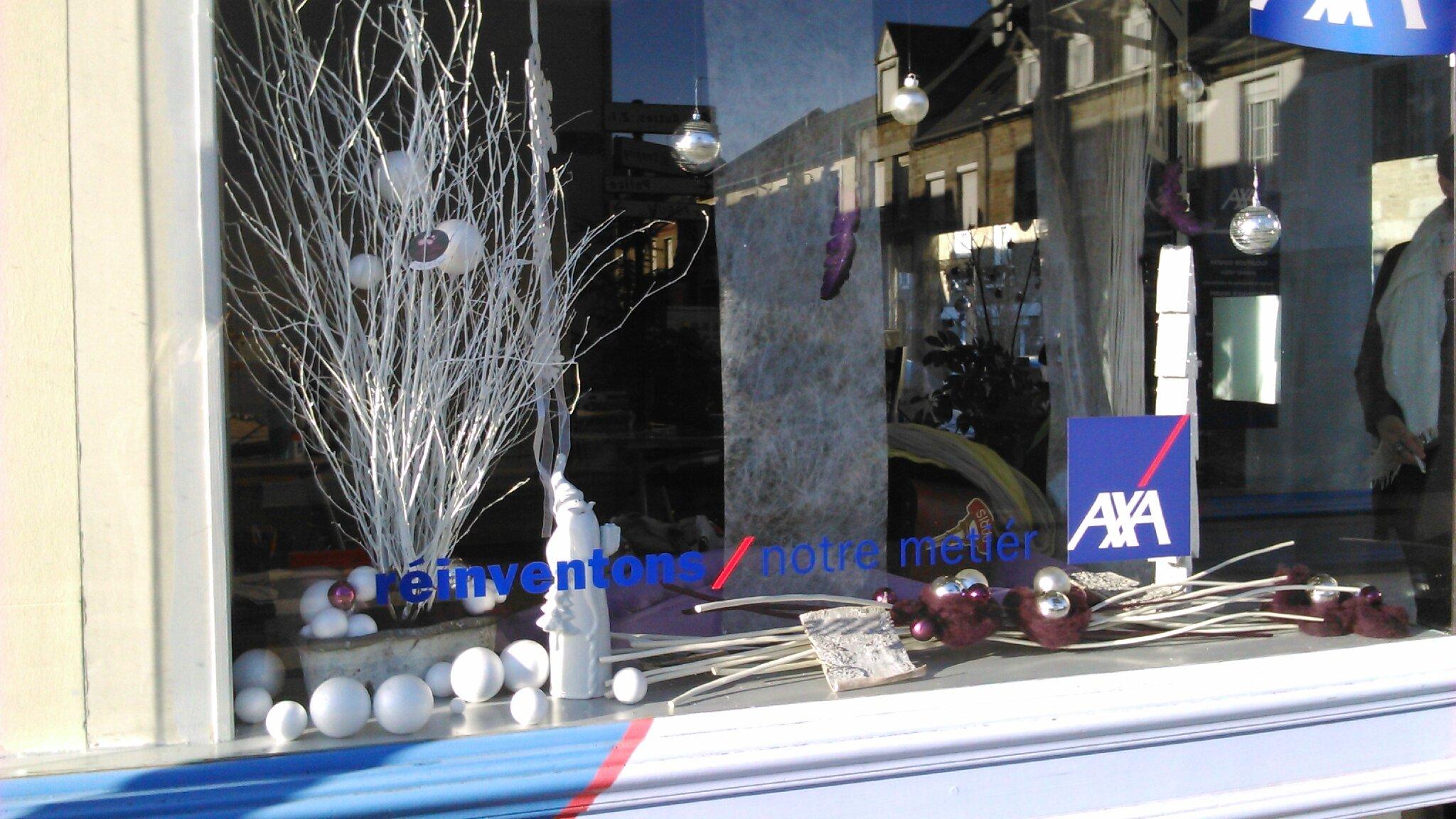 Les folies d 39 ana - Decoration vitrine noel magasin ...