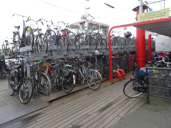 Parking vélos Amsterdam