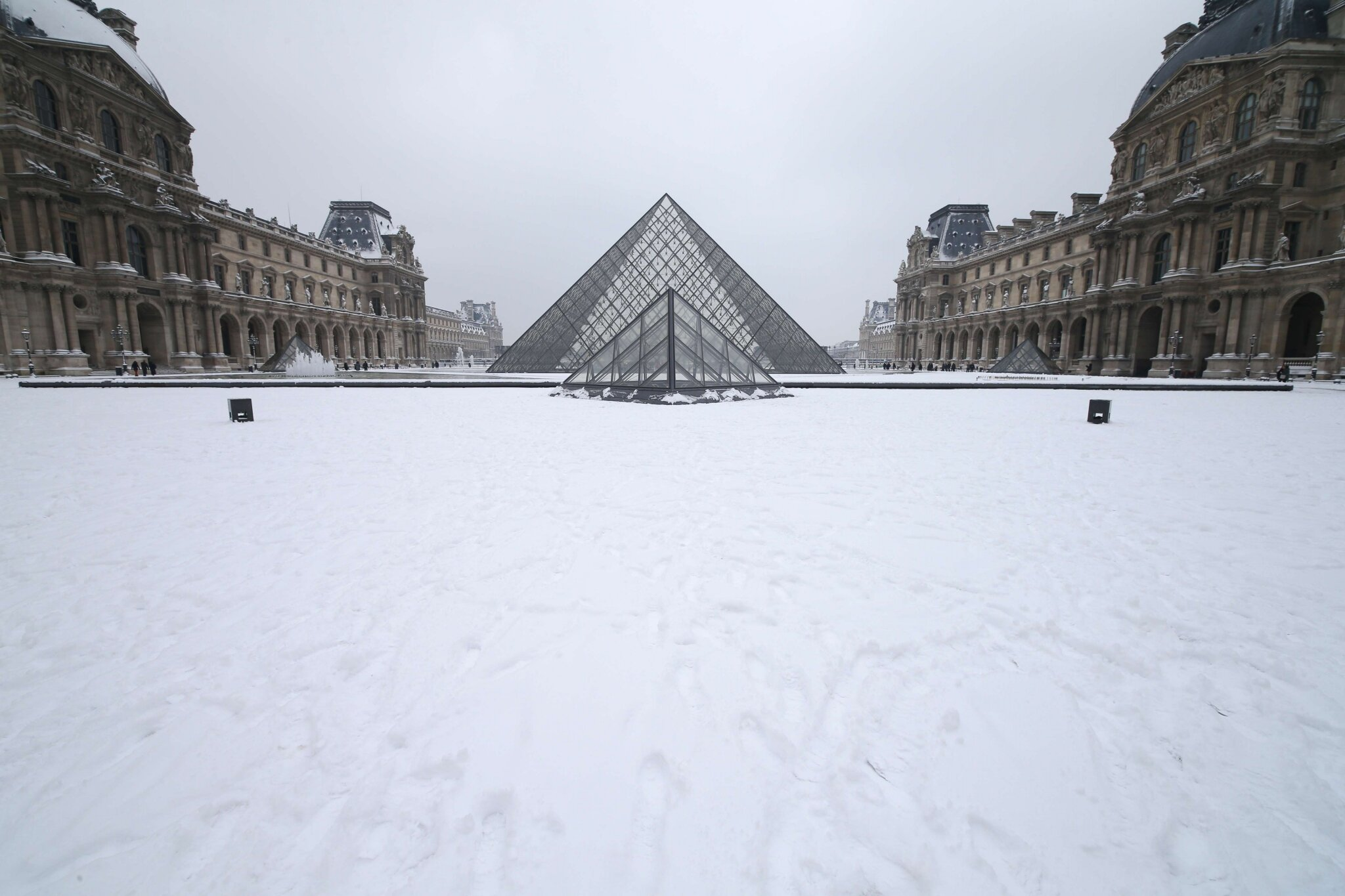 Paris sous la neige. © Photo Michel Stoupak. Sam 19.01.2013, 10:57.