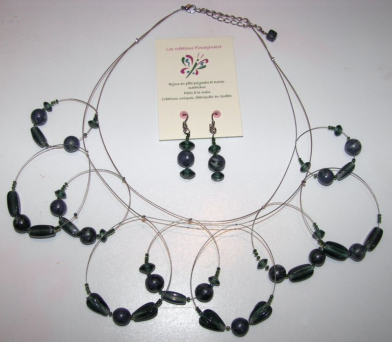 boucles anthracite - 20$