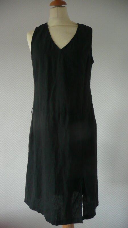 la robe longue devant
