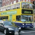 O'Conell Street: Bus et taxis dublinois