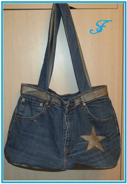 sac jean recycle devant