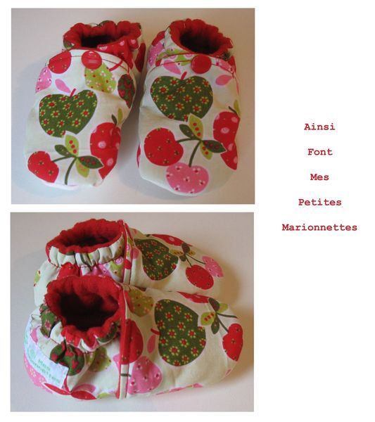 pack trio fruite chaussons