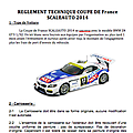 Règlement technique coupe de france scaleauto 2014
