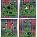 n° 151 à 154, gentils monstres verts, ok (Copier)