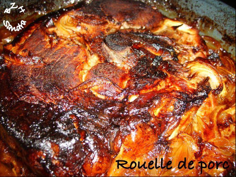 Rouelle de porc caram lis e au four bzh sandra - Paupiette de porc a la poele ...