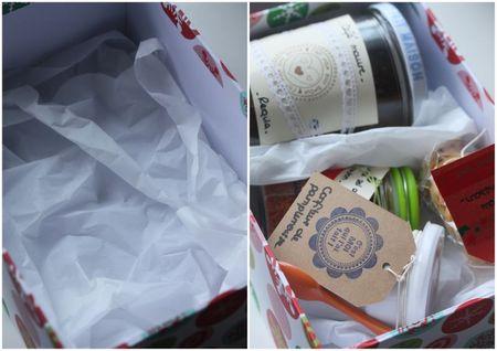 cadeau gourmand fait maison boite blog chez requia
