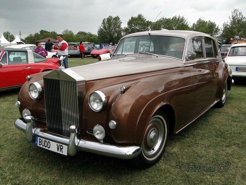 rolls royce silver cloud II 1959 1962 a