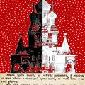 Cartes postales, collection le rouge et le noir