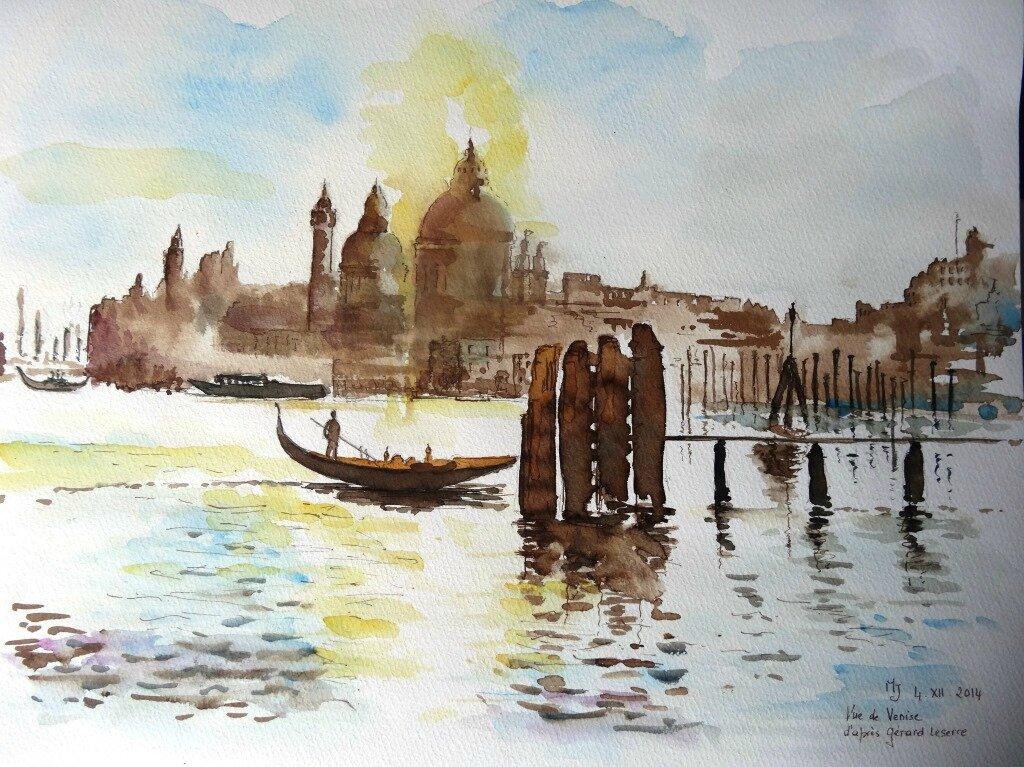 Venise 8, en sépia