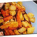 Frites carottes