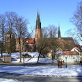 Uppsala en hiver