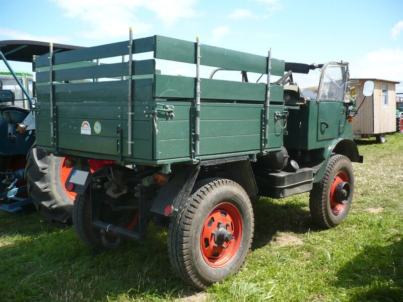 UNIMOG type 411 convertible 1961 Eutingen (2)