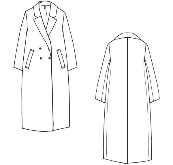 Cousette Patterns - Manteau Douillette