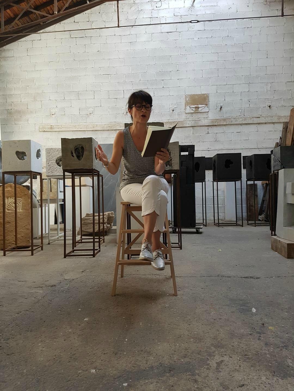 Lectures à l'atelier - avec E. Della-Schiava