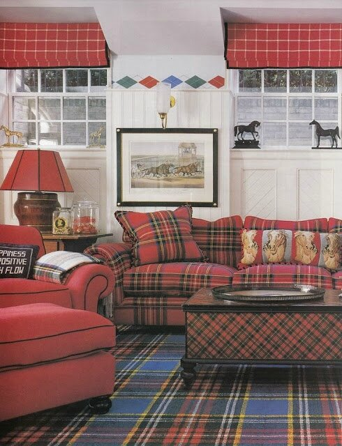 Scottish-plaid