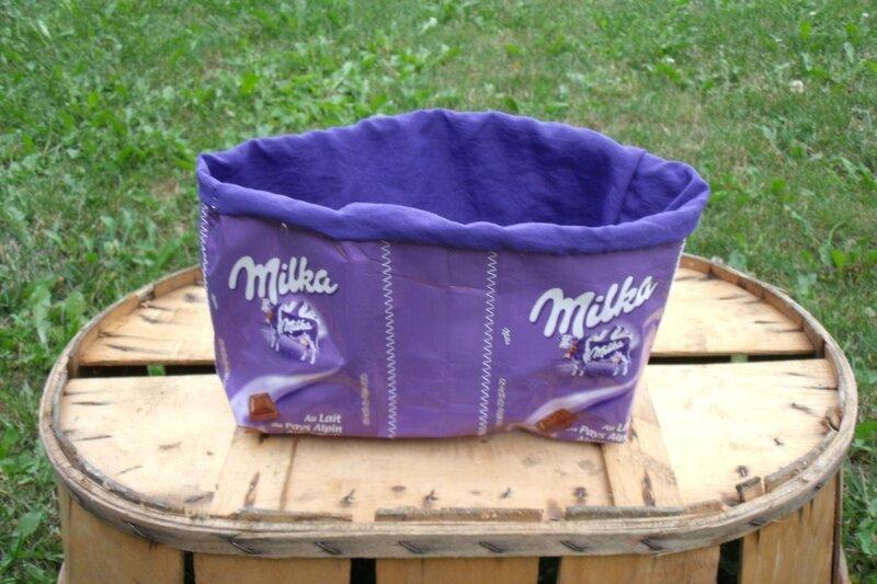 pochon récup milka