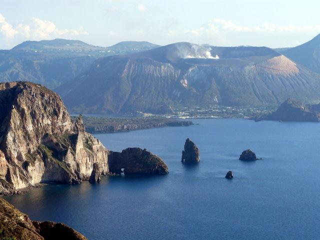 Vulcano depuis Lipari