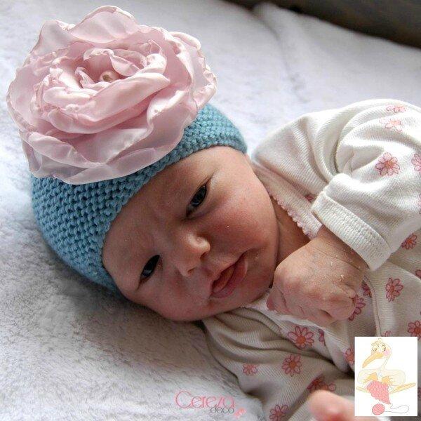 Brodi Broda-La cereza sur la deco-gazouillis et cie-bonnet fleur